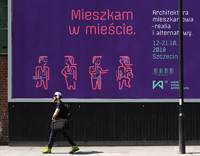 Westival 2018: Living in the city | visual identity