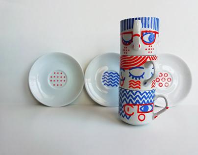Chávenas Ilustradas