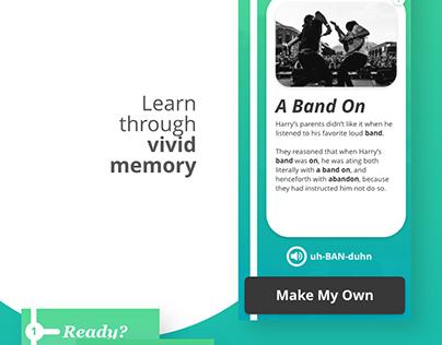 MemoryHook (Mobile UX/UI)