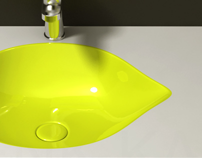Lemon - Bathroom Sink Design