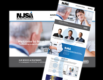 Spine Surgery and Orthopedic Branding and Website