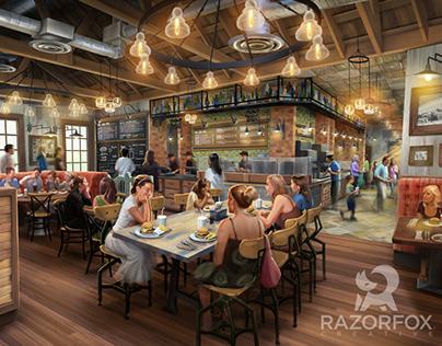 Orlando Theme Park Restaurant