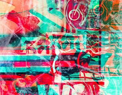 Transparent Time // Analog Collage