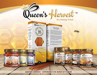 Product labels QUEEN'S HARVEST