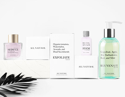 All Natural - Cosmetic Packaging