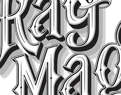 Ray of Magic Custom Logotype