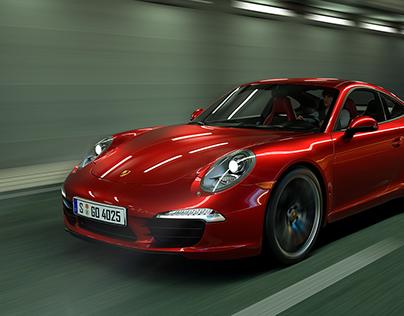 Porsche 911 Carrera - Full CGI