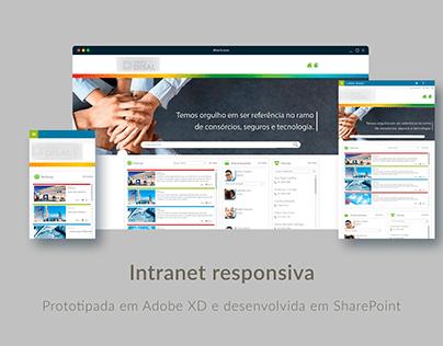 Portal intranet
