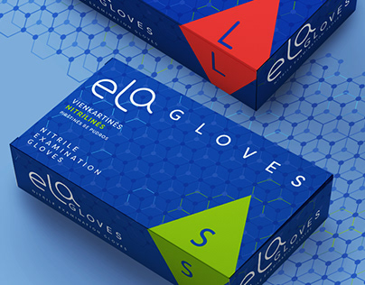 Ela Gloves Packaging