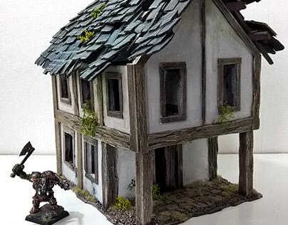Custom Terrain Miniatures - Handmade Scenery