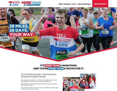 Teenage Cancer Trust More Than a Marathon Virtual Event