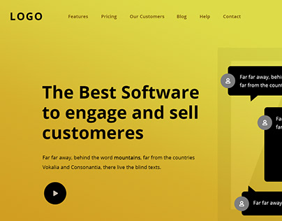 Software Website -Software to engage and sell customers