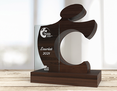 Rendu 3D Trophée
