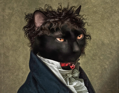 Portrait Your Pet, where our Pets and Art History meet.