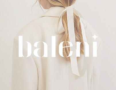 Baleni-clothing brand identity
