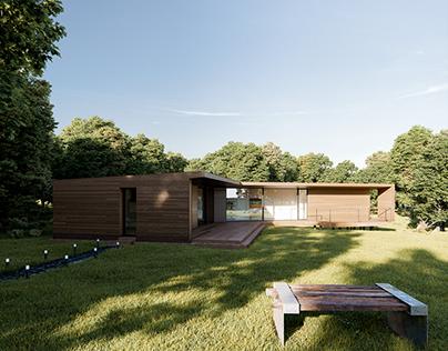 Villa Nyckelpiga - Personal project