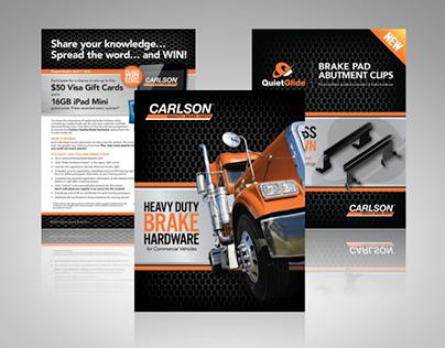 Carlson Brake Brochures and Flyers