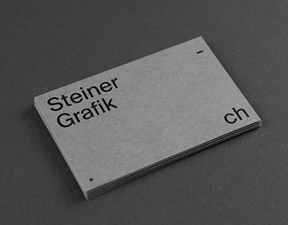 Steiner Grafik – Business Card