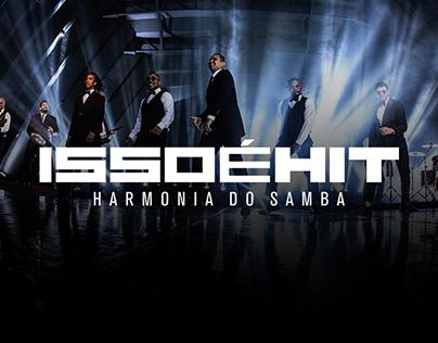 Material para Divulgação #IssoÉHit - Harmonia do Samba