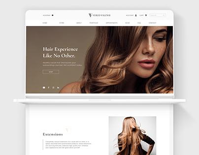 Vered Valensi - Website Design
