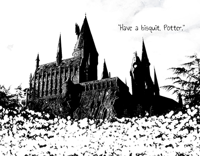 Have a bisquit, Potter - fun with ps