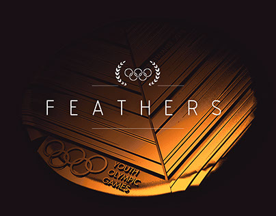 feathers — Youth Olympic Games Medal Design