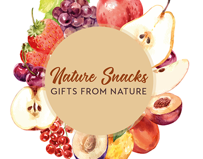 Nature Snacks - A branding project