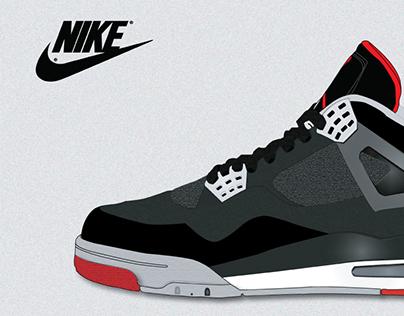 Air Jordan Retro 4 Bred