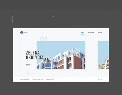 Landing Page (Clear UI)