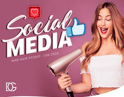 Social Media - Mar Hair Studio