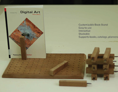 Material Exploration : Book Stand