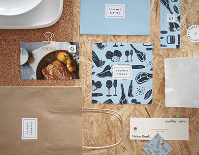 Gourmet Shop Branding