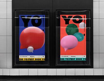 Yo!Fest Event Branding