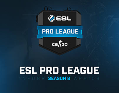 ESL Pro League Season 8 inforgraphics