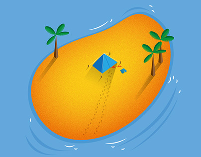 The 3rd island mango milkshake IPA poster