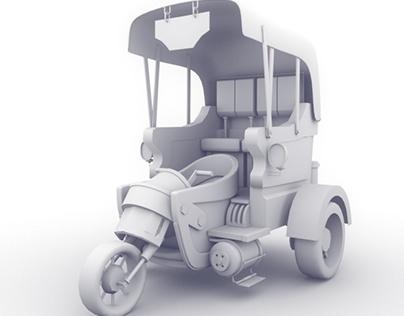 Steampunk Taxi