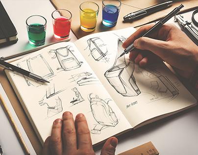 Sketchbook Mock-Up / Artist's Edition