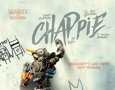 Chappie / fan art poster