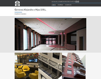 Estudio Genovesi - Website