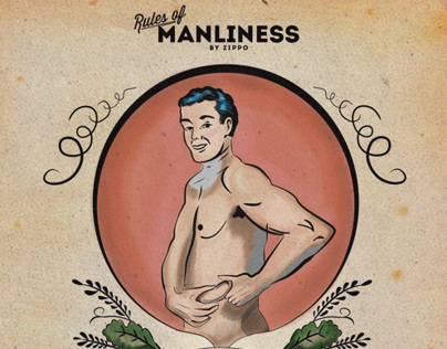 "Zippo ""Rules of Manliness"""