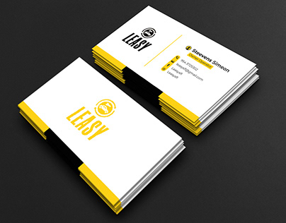 Leasy Business Card   Multiple Concepts