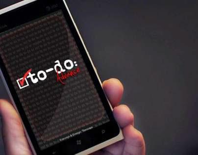 To-Do Advance (Mobile Application)