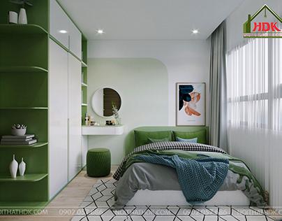 Căn hộ 2 phòng ngủ 64m2 tại Vinhomes Smart City