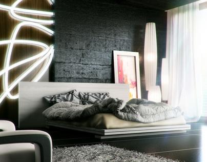 Black bedroom (breakdown)