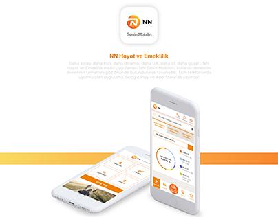 NN Hayat Emeklilik Mobile App UX / UI