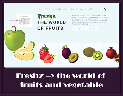 Online fruits and vegetable shop