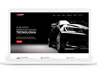 Template Web Site - Desenvolvido para Altech