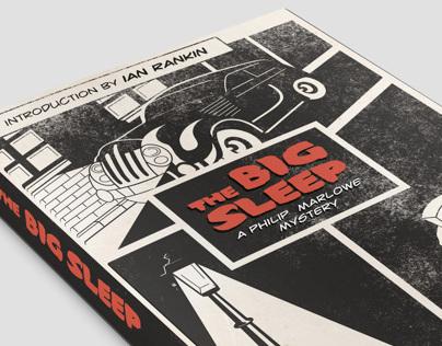 The Big Sleep Book Cover Illustration