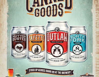 Payette Brewing Co. - Can Design