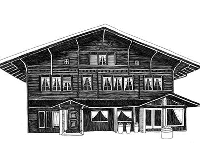 Swiss House Illustrations